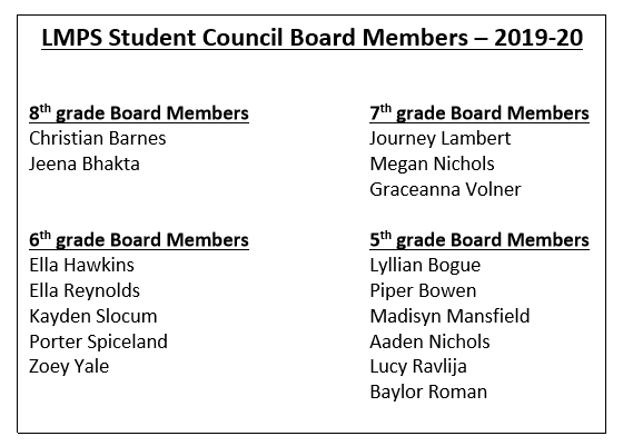 Student Council election results from LMPS | Lakeland Currents
